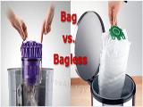 Bagged VS Bagless Vacuum Cleaners