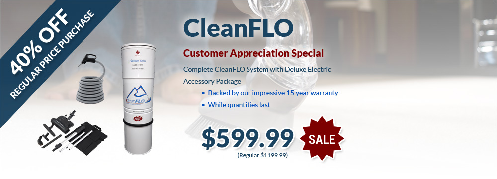 CleanFlo 40% OFF